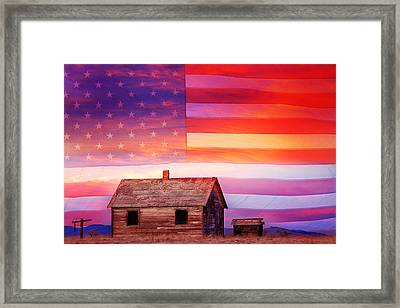 Rural Rustic America Framed Print by James BO  Insogna