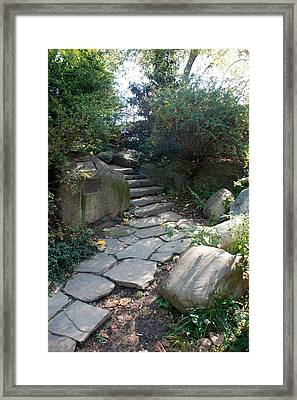 Rural Steps Framed Print by Rob Hans