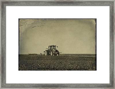 Rural Texas Morning Framed Print by Melany Sarafis