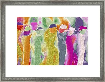 Rush Hour Framed Print