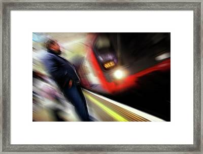 Rush Framed Print by Richard Piper