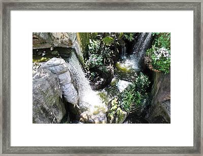 Rushing Green Framed Print by Elizabeth Hart