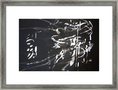 Rushing Headlong Framed Print by Cheri Randolph