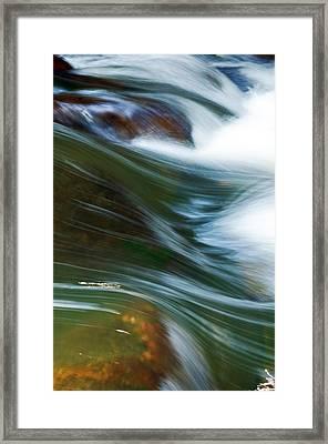 Rushing Water I Framed Print