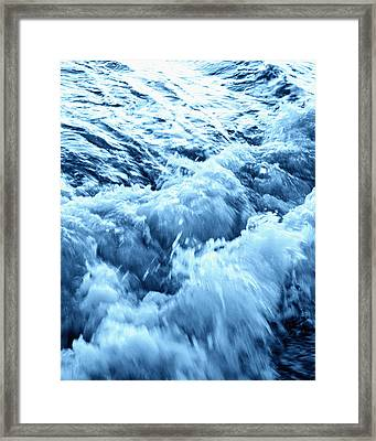 Ice Cold Water Framed Print