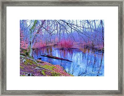 Russel River Park Framed Print