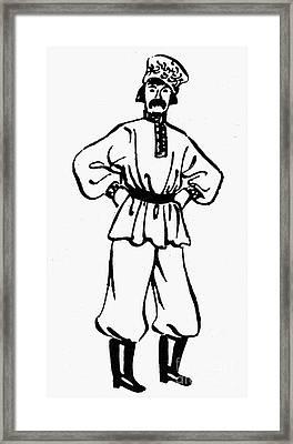 Russia: Ivan Framed Print by Granger