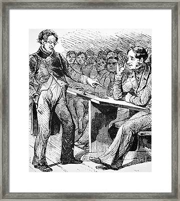 Russia: Students, 1844 Framed Print
