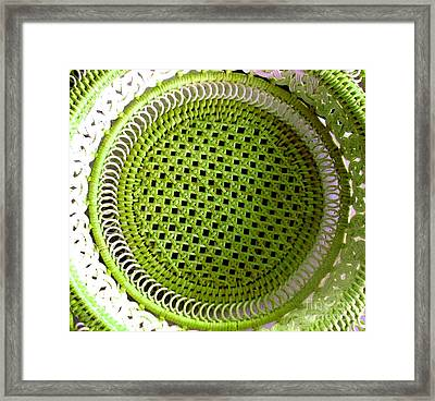 Russian Basket Framed Print by Amy Sorrell