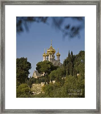 Russian Orthodox Church Framed Print by Noam Armonn