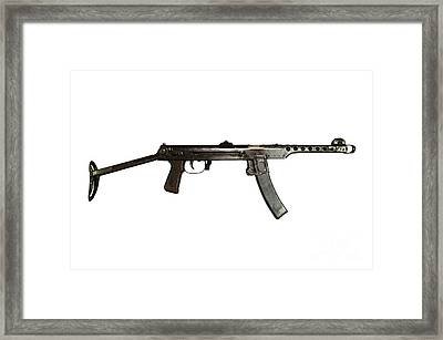 Russian Pps-43 Submachine Gun Framed Print by Andrew Chittock