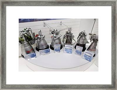 Russian Rocket Engines Framed Print by Mark Williamson
