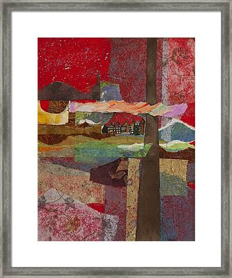 Russian Village Framed Print