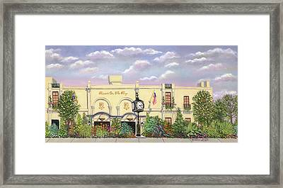 Russo's On The Bay Framed Print