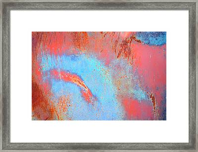 Rust Lust Framed Print by Diane montana Jansson