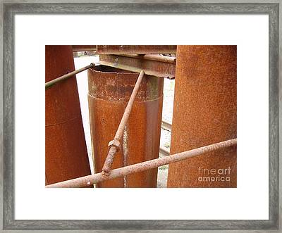 Rust Framed Print by Phillip Steele