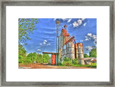 Rusted But Still Going Strong Framed Print by Rick Ward