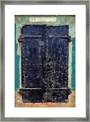 Rusted Through Framed Print by Matt Hanson