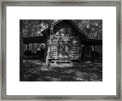 Rustic Barn Framed Print by Warren Thompson