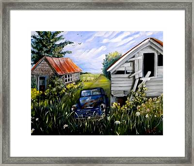 Rustic Partners Framed Print