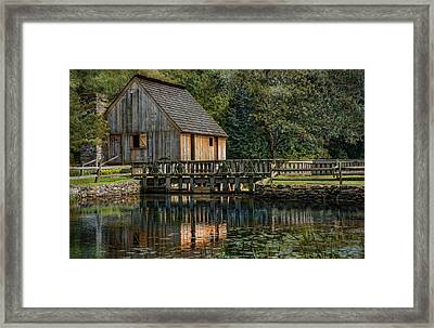 Rustic Reflection Framed Print by Robin-Lee Vieira