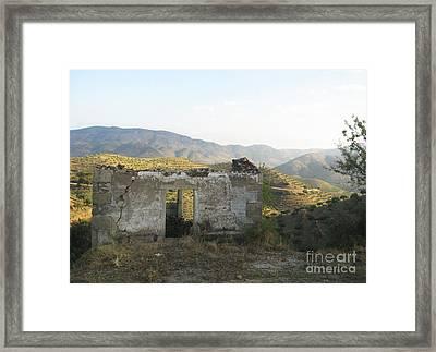 Rustic Scene Framed Print by Arlene Carmel