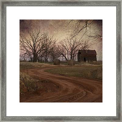 Rustic Shack Framed Print
