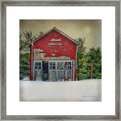 Framed Print featuring the photograph Rustic Shed by Mary Timman
