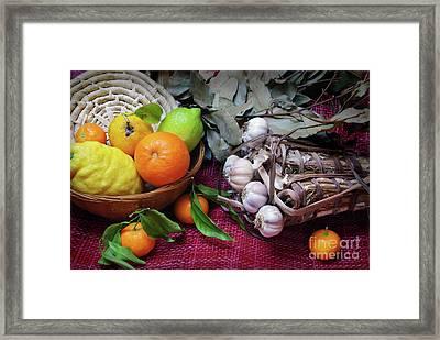 Rustic Still-life Framed Print