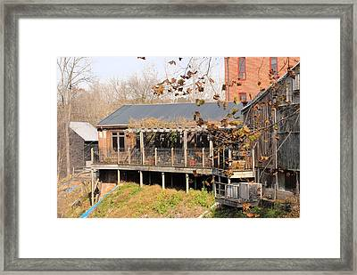Rustic With Class Framed Print by