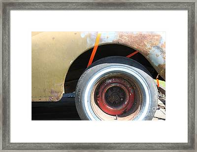 Rusty 1941 Chevrolet . 5d16212 Framed Print by Wingsdomain Art and Photography