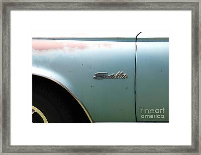 Rusty 1965 Plymouth Satellite . 5d16630 Framed Print by Wingsdomain Art and Photography