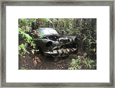 Framed Print featuring the photograph Rusty And Crusty 2 by Nick Mares