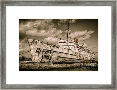 Rusty Duke Framed Print by Adrian Evans