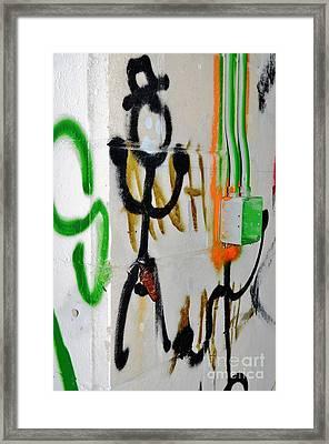 Rusty Framed Print by Lynda Dawson-Youngclaus