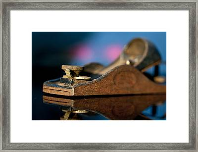 Rusty Plane Framed Print