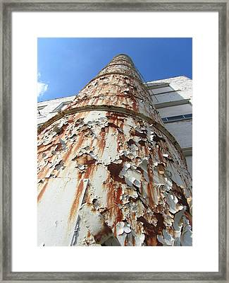 Rusty Tower Framed Print by Todd Sherlock
