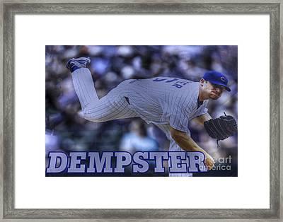 Ryan Dempster Framed Print