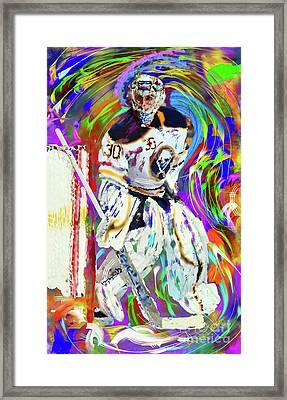 Ryan Miller Framed Print by Donald Pavlica