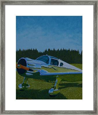 Ryan Reflections Framed Print by Ron Smothers