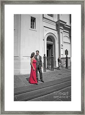 S And D 54 Framed Print