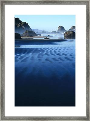 S Ecola Oregon Framed Print