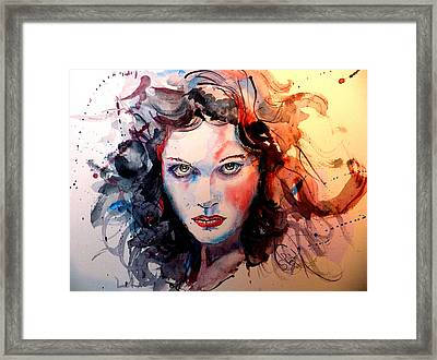 Sabina Framed Print by Steven Ponsford
