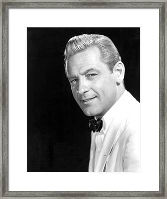 Sabrina, William Holden, 1954 Framed Print by Everett