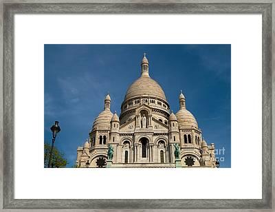 Sacre Coeur Cathedral Framed Print