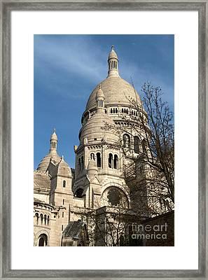 Sacre Coeur Tower Framed Print