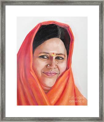 Sacred Beauty Framed Print