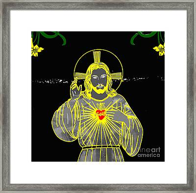 Sacred Heart Framed Print
