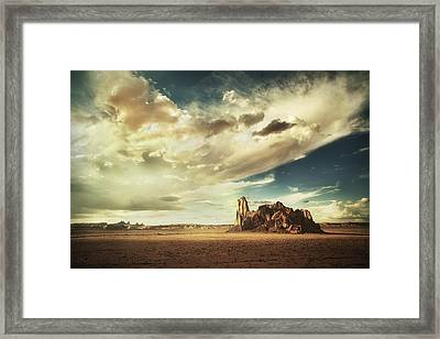 Sacred Land Framed Print by Stuart Deacon