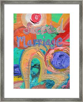 Sacred Marriage Framed Print
